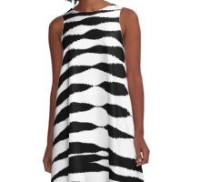 Abstract 140716(02) A-Line Dress
