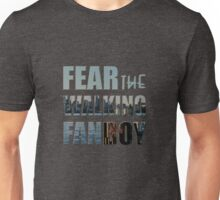 Fear the Walking Fanboy Unisex T-Shirt