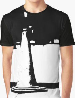 Traffic Cone Graphic T-Shirt