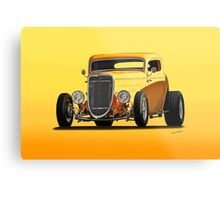 1934 Ford 'Mango Madness' Coupe II Metal Print