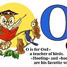 Owl teacher of birds by Redilion