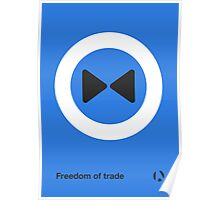Freedom of trade Poster
