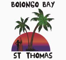 Bolongo Bay St. Thomas One Piece - Short Sleeve