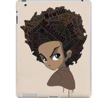 Huey Freeman - Black Power iPad Case/Skin