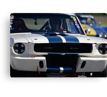 1966 Shelby Mustang GT350  Canvas Print