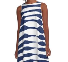 Abstract 140716(04) A-Line Dress