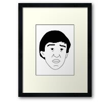 Alan Partridge Framed Print