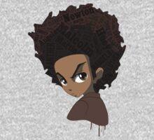 Huey Freeman - Black Power Kids Clothes