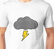Cartoon Thundercloud!! Unisex T-Shirt