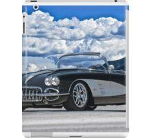 1958 Corvette 'Resto' Roadster iPad Case/Skin