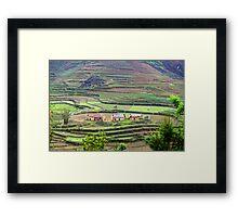 Nam Dam Village... Framed Print