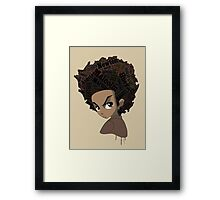Huey Freeman - Black Power Framed Print
