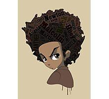 Huey Freeman - Black Power Photographic Print