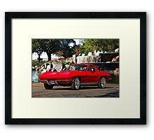1964 Chevrolet Corvette Stingray Framed Print