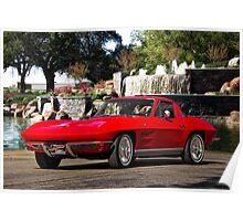 1964 Chevrolet Corvette Stingray Poster