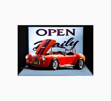 1965 Shelby Cobra 'Open Daily' Roadster Unisex T-Shirt