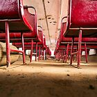 Lonely seats  by Shaun Colin Bell