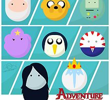 Adventure Time by Liam Drage