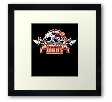 SoniMario the Console Wars Framed Print