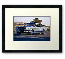1965 Shelby Mustang GT350 II Framed Print