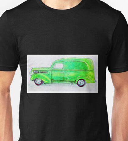 Panel Truck Unisex T-Shirt