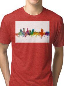 Port Elizabeth South Africa Skyline Tri-blend T-Shirt