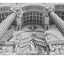 Basilique Notre Dame de Fourvière, Lyon by Sama-creations