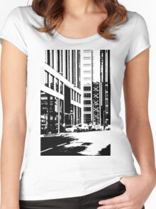 Business District Women's Fitted Scoop T-Shirt
