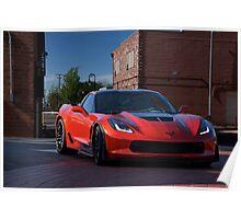 2015 Chevrolet Corvette Stingray Poster