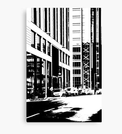 Business District Canvas Print