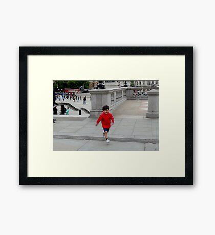 Sheer, Unadulterated JOY Framed Print