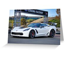 Chevrolet Corvette Z06 I Greeting Card
