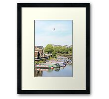 The water Sky and Baloon Framed Print