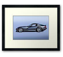 2000 Dodge Viper VS1 I Framed Print