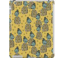 Pineapple - Yellow by Andrea Lauren iPad Case/Skin