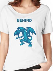 Behind Blue-Eyes W. Dragon Women's Relaxed Fit T-Shirt