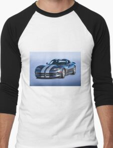2000 Dodge Viper VS1 II Men's Baseball ¾ T-Shirt