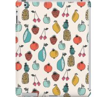 Tutti Fruit Pattern - Cream by Andrea Lauren iPad Case/Skin