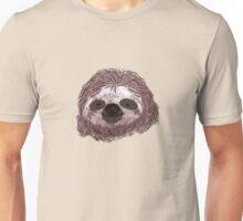 Realistic Sloth Face Unisex T-Shirt
