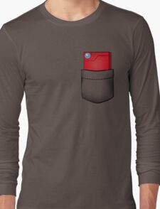 Pokedex in my pocket Long Sleeve T-Shirt