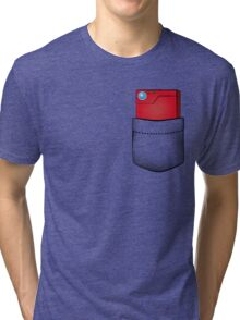 Pokedex in my pocket Tri-blend T-Shirt