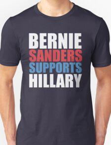 Bernie Sanders - Hillary Clinton Unisex T-Shirt