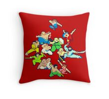Kung Fu Jungle - Vol. 2 Throw Pillow