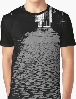 Lonely Lane Graphic T-Shirt