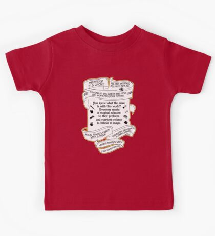OUAT quotes. Once Upon A Time. V4. Kids Tee