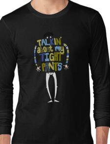 Tight pants - colour and black Long Sleeve T-Shirt