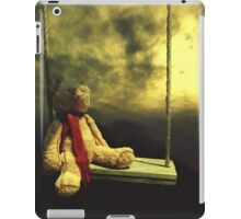 every sunset brings the promise of a new dawn ~ Ralph Waldo Emerson iPad Case/Skin