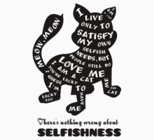 There's nothing wrong about selfishness by Radka Kavalcova