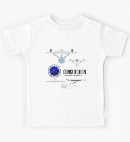 U.S.S. Constitution Kids Tee