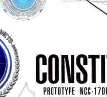 U.S.S. Constitution Sticker